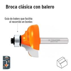 Broca para Router Clasica con Balero TRUPER