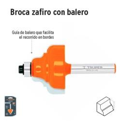 Broca para Router Zafiro con Balero TRUPER
