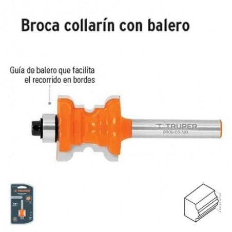 Broca para Router Collarin con Balero TRUPER