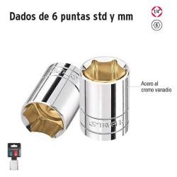 """Dados de 6 Puntas Cuadro 1/4"""" TRUPER"""