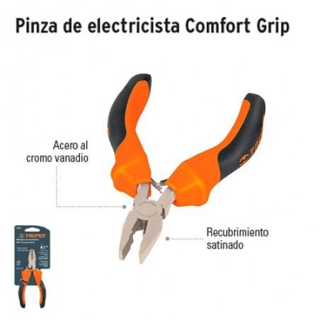 Pinza de Electricista Comfort Grip TRUPER