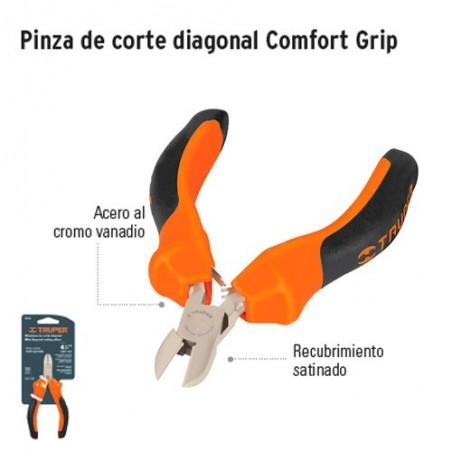 Pinza de Corte Diagonal Comfort Grip TRUPER