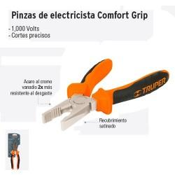 Pinzas de Electricista Comfort Grip TRUPER