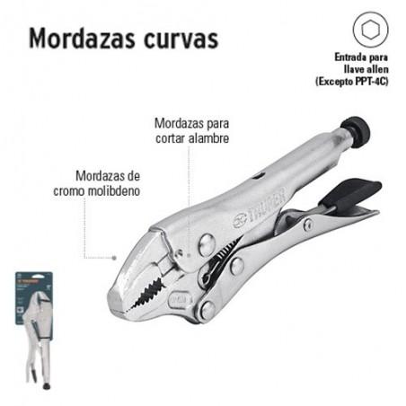 Pinzas de Presión Mordazas Curvas TRUPER