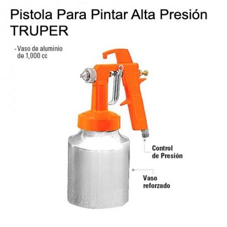 Pistola Para Pintar Baja Presión 50 PSI TRUPER