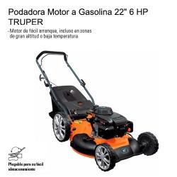 "Podadora Motor a Gasolina 22"" 6 HP TRUPER"