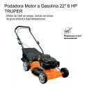 "Podadora Motor a Gasolina 18"" 4 HP TRUPER"