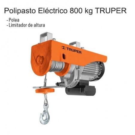 Polipasto Eléctrico 800 kg TRUPER