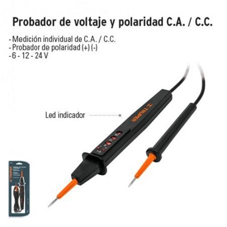 Probador de Voltaje y Polaridad C.A./ C.C TRUPER