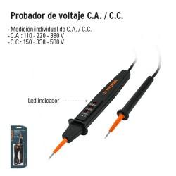 Probador de Voltaje C.A. / C.C. TRUPER