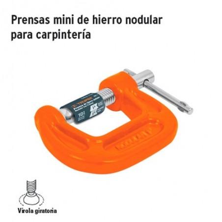 Prensa Mini de Hierro Nodular para Carpinteria TRUPER