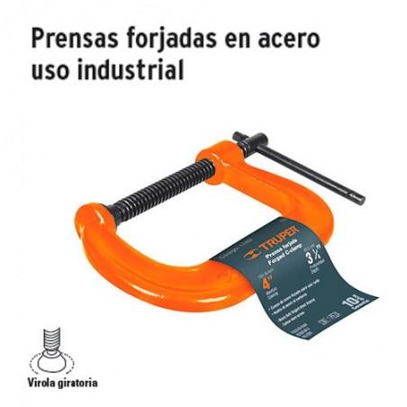 Prensa Forjada en Acero Uso Industrial TRUPER