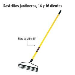 Rastrillo Jardinero 14 y 16 Dientes TRUPER