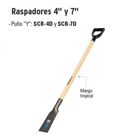"""Raspadores 4"""" y 7"""" TRUPER"""