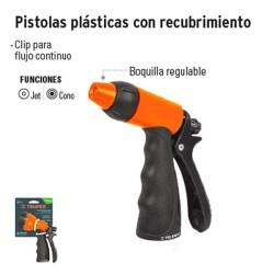 Pistolas Plásticas con Recubrimiento TRUPER