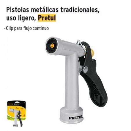 Pistolas Metálicas Tradicionales Uso Ligero PRETUL