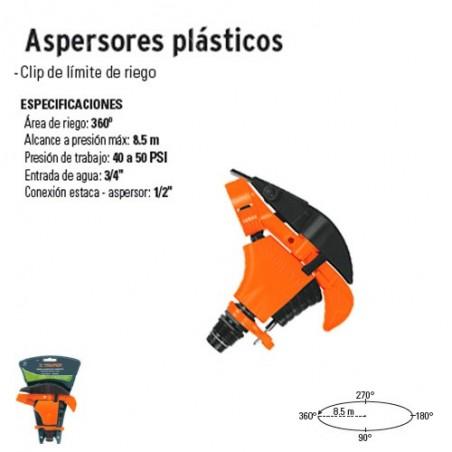 Aspersores Plásticos TRUPER