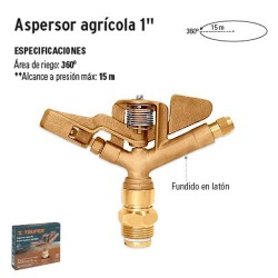 "Aspersor Agrícola 1"" TRUPER"