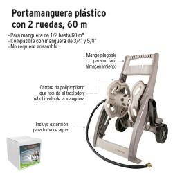 Portamanguera con Ruedas 45 m TRUPER