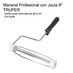 "Maneral Profesional con Jaula 9"" TRUPER"