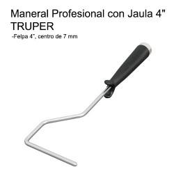 """Maneral para Mini-Rodillo 4"""" TRUPER"""