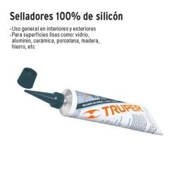 Sellador 100% Silicón 85 g TRUPER