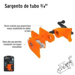"""Sargento de Tubo 3/4"""" TRUPER"""