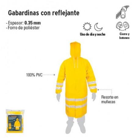 Gabardina Con Reflejante TRUPER