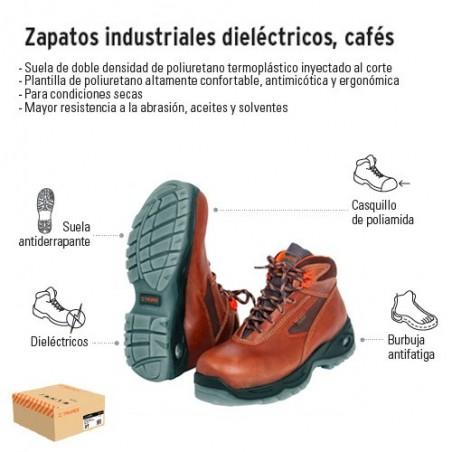Zapatos Industriales Dieléctricos Cafes TRUPER