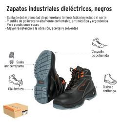 Zapatos Industriales Dieléctricos Negros TRUPER
