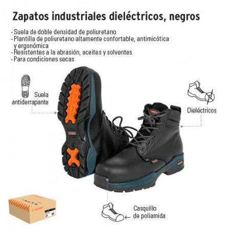Botas Industriales Dieléctricos Negros TRUPER