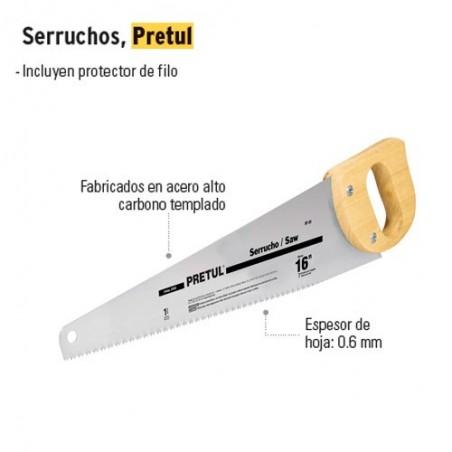 Serrucho PRETUL