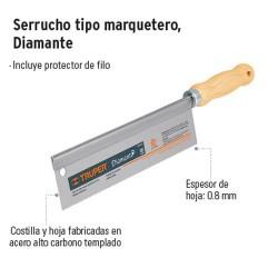 Serrucho Tipo Marquetero Diamante TRUPER