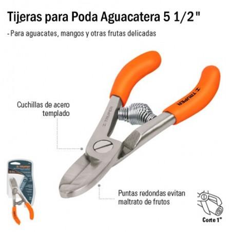 "Tijeras para Poda Aguacatera 5 1/2"" TRUPER"