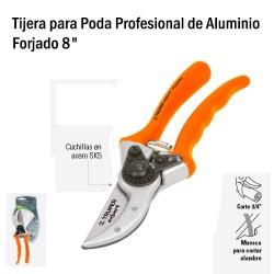 "Tijera para Poda Profesional de Aluminio Forjado 8"" TRUPER"