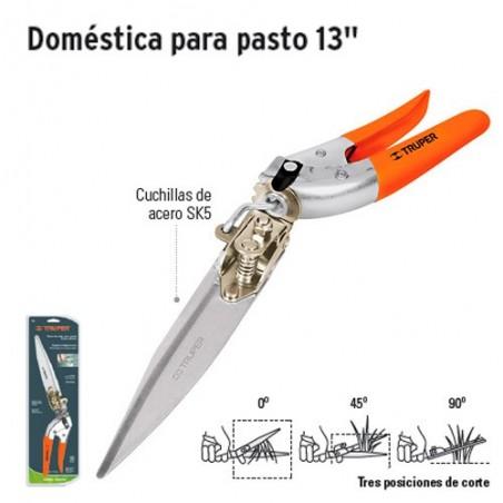 """Tijeras de Poda Doméstica para Pasto 13"""" TRUPER"""