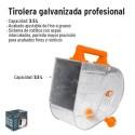 Tirolera Galvanizada Profesional TRUPER