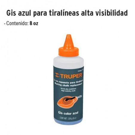 Gis Azul para Tiralíneas Alta Visibilidad TRUPER