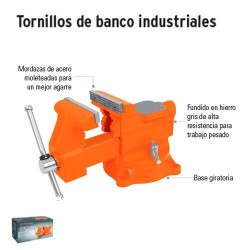 Tornillos de Banco Industriales TRUPER