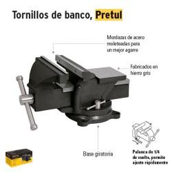 Tornillos de Banco Ligeros PRETUL