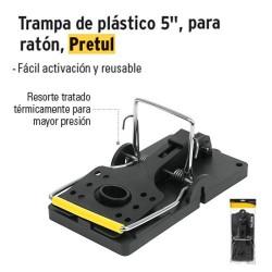 """Trampa de Plástico 5"""" para Ratón PRETUL"""