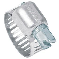Mini Abrazaderas Reforzadas de Acero Inoxidable Bolsa con 10 Piezas FIERO