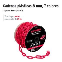 Cadenas Plásticas 8 mm FIERO